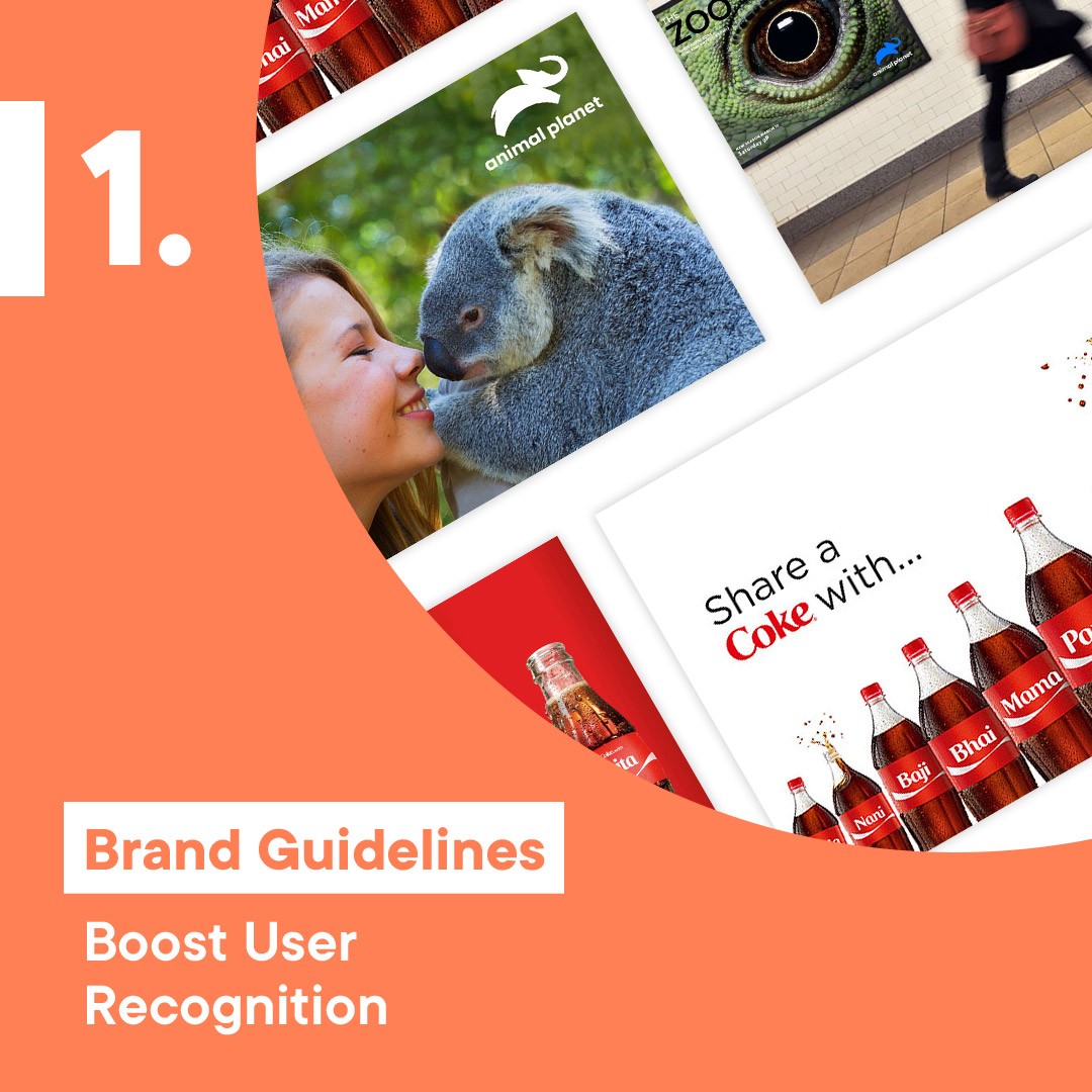 Brand guidelines boost user recognition image